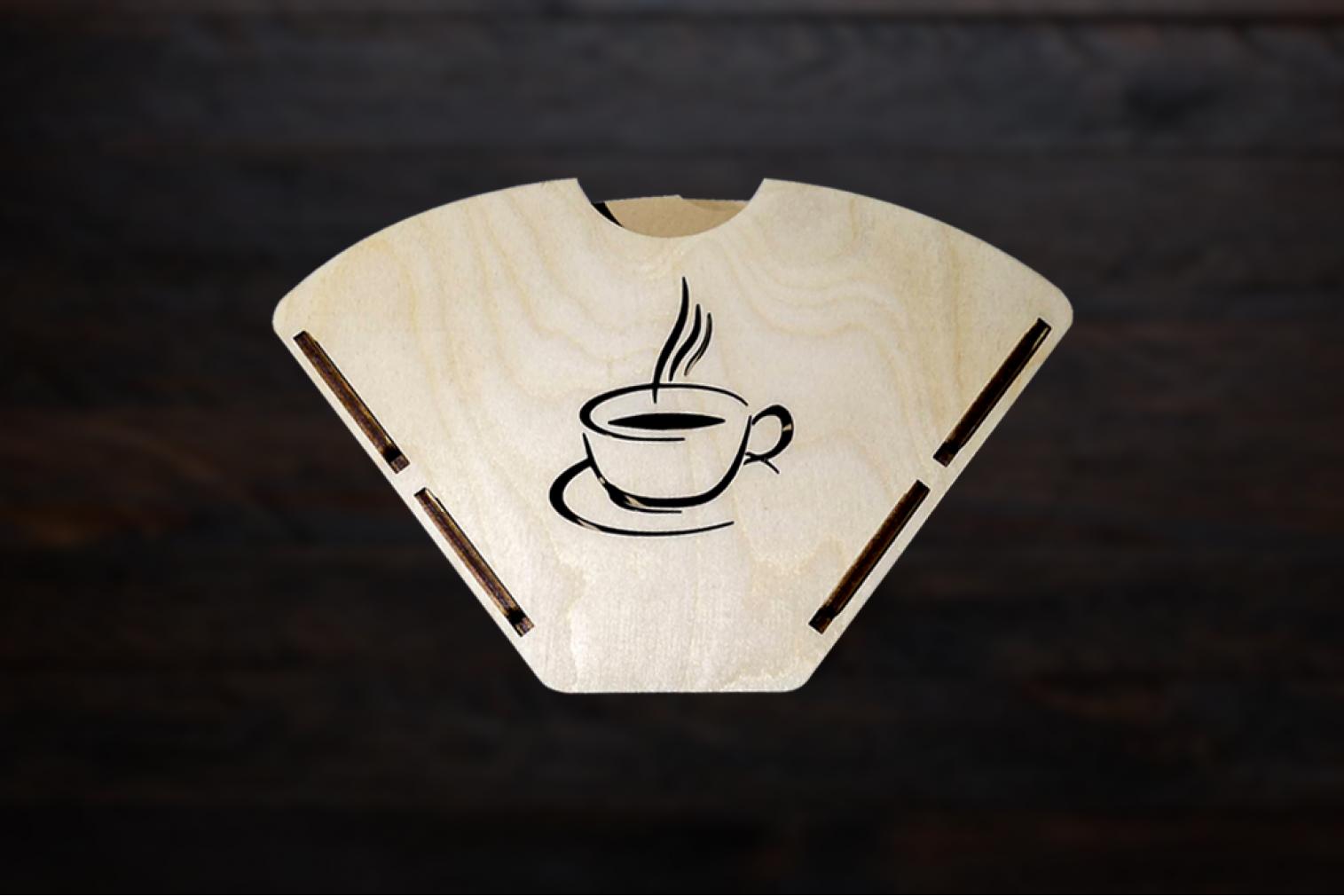 Kafijas filtru turētājs Nr.1
