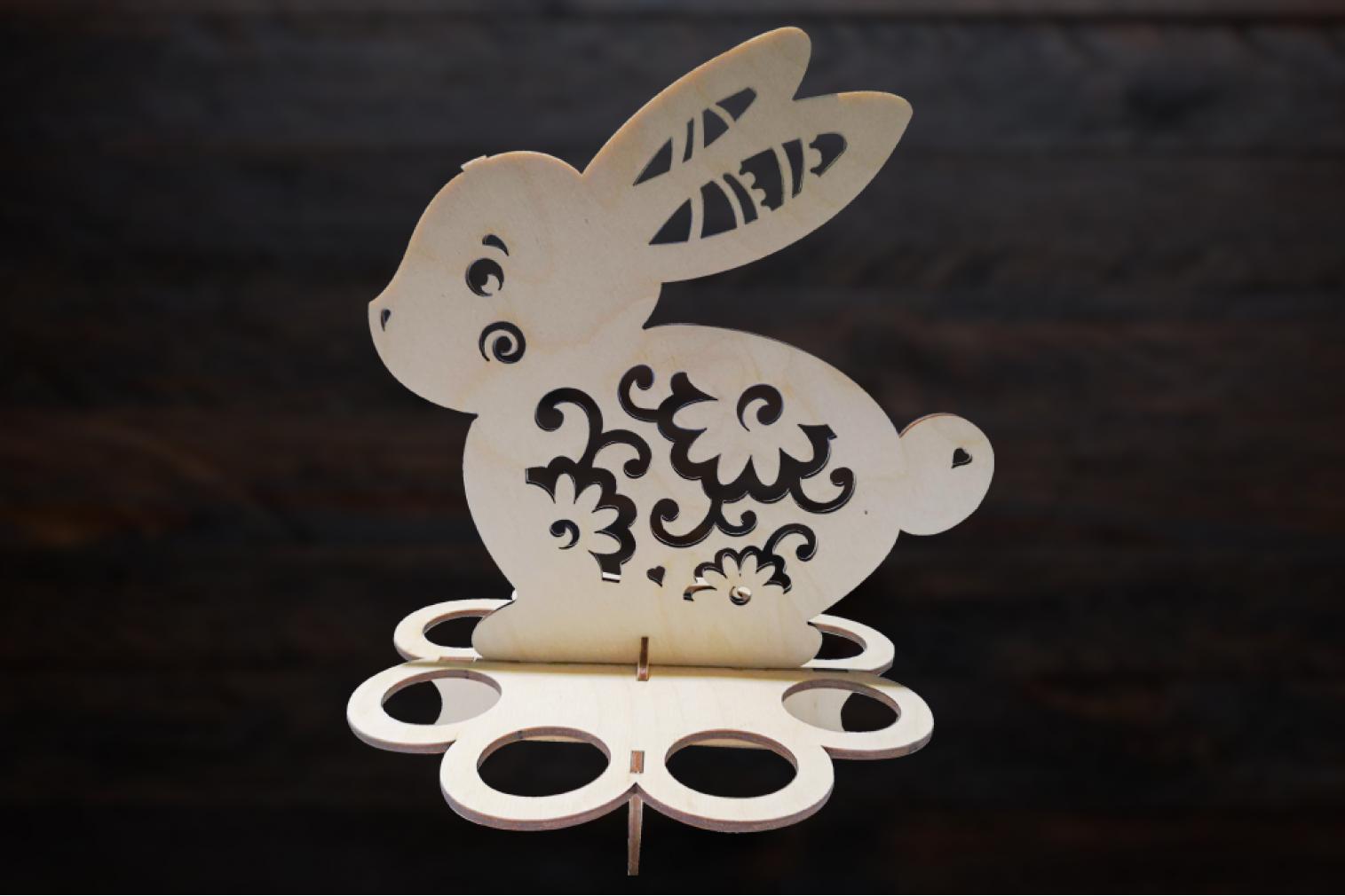 Egg holder Rabbit