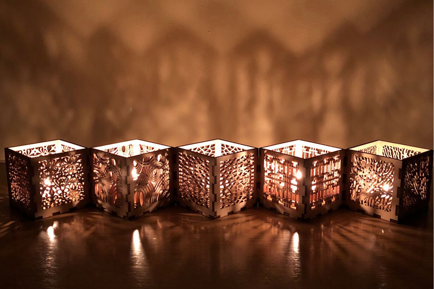 Candle holder set Nr.6